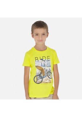 "Camiseta manga corta ""ride"" de MAYORAL para niño modelo 6058"