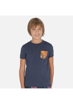 "Camiseta manga corta ""port"" de MAYORAL para niño modelo 6054"