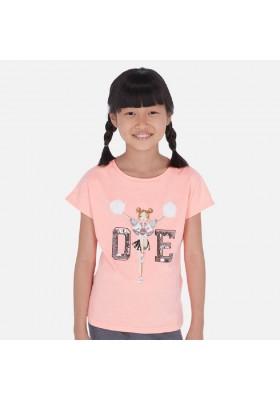 Camiseta manga corta animadora de MAYORAL para niña modelo 6025