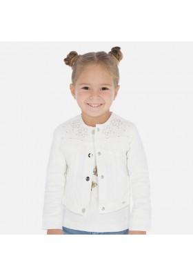 Cazadora aplicaciones de MAYORAL para niña modelo 3466