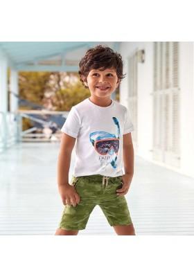 Bermuda estampada todo goma de MAYORAL para niño modelo 3264