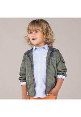 Camisa manga larga contrastes de MAYORAL para niño modelo 3177