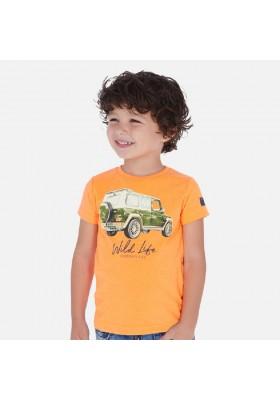 Camiseta manga corta vehiculo de MAYORAL para niño modelo 3071