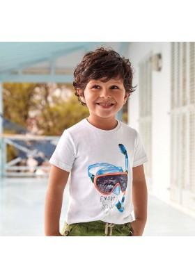 Camiseta manga corta lenticular de MAYORAL para niño modelo 3070