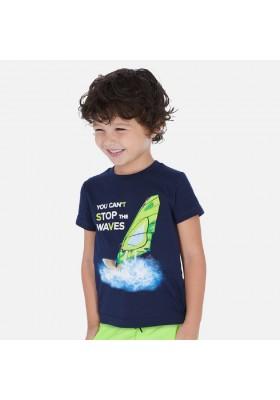 "Camiseta manga corta ""waves"" de MAYORAL para niño modelo 3068"