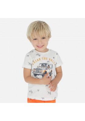 Camiseta manga corta estampada de MAYORAL para niño modelo 3062