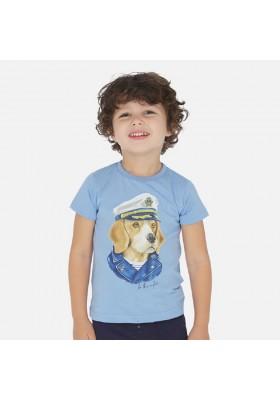 "Camiseta manga corta ""capitan"" de MAYORAL para niño modelo 3057"