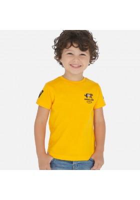 Camiseta manga corta bordados de MAYORAL para niño modelo 3051