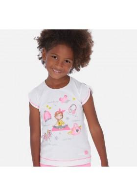 Camiseta manga corta complementos de MAYORAL para niña modelo 3016