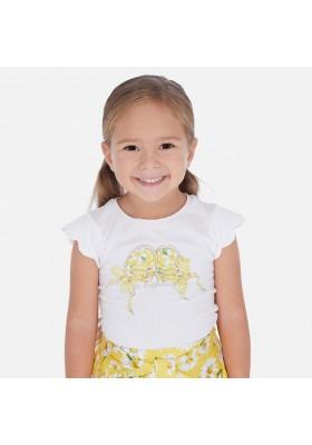 Camiseta manga corta zapatillas de MAYORAL para niña modelo 3015