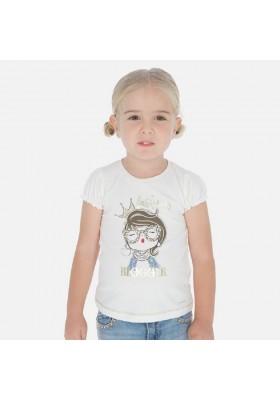Camiseta manga corta muñeca de MAYORAL para niña modelo 3008