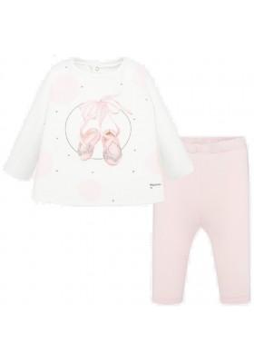 Conjunto leggings manga larga de MAYORAL para bebe niña modelo 1702