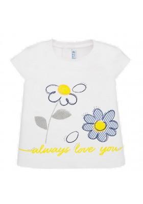 Camiseta manga corta de MAYORAL para bebe niña modelo 1063