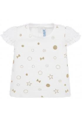 Camiseta manga corta de MAYORAL para bebe niña modelo 1057