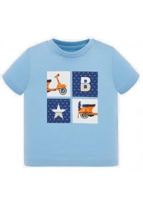 Camiseta manga corta moto de MAYORAL para bebe niño modelo 1052