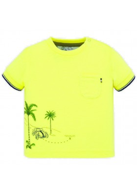 Camiseta manga corta posicionada de MAYORAL para bebe niño modelo 1050