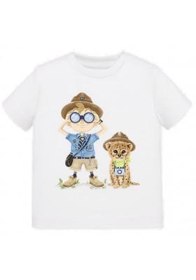 Camiseta manga corta explorador de MAYORAL para bebe niño modelo 1048