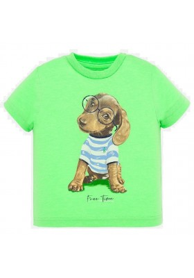 Camiseta manga corta animal de MAYORAL para bebe niño modelo 1046