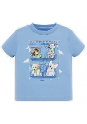 "Camiseta manga corta ""one hundred"" de MAYORAL para bebe niño modelo 1044"