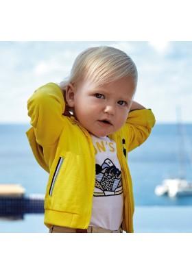 Camiseta manga corta zapatilla apliqu de MAYORAL para bebe niño modelo 1040