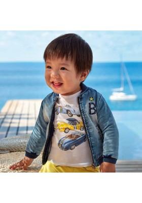 "Camiseta manga corta ""top line"" de MAYORAL para bebe niño modelo 1039"